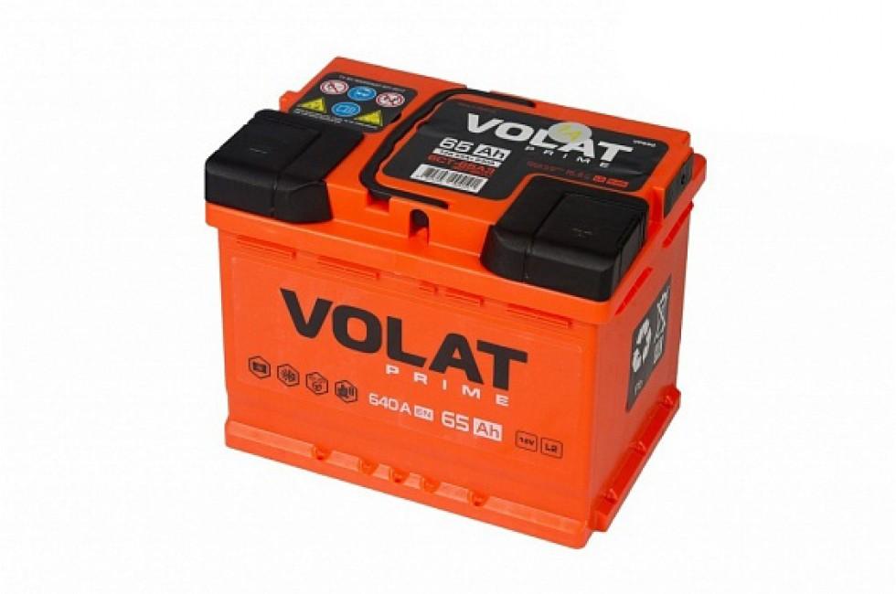 Аккумулятор VOLAT Prime 65 A/h 640A L+