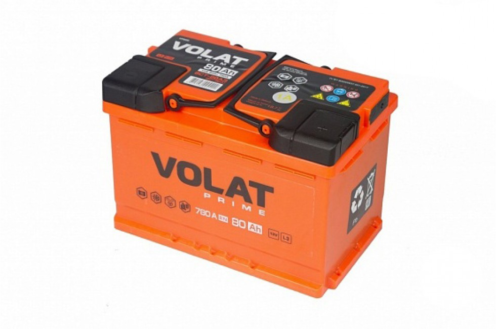 Аккумулятор VOLAT Prime 80 A/h 780A R+