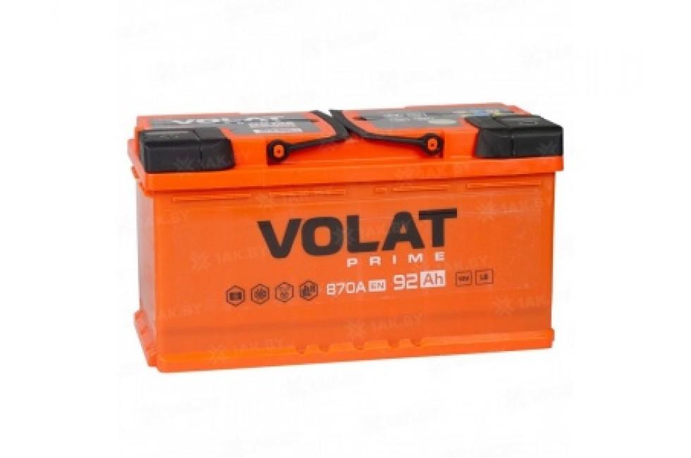 Аккумулятор VOLAT Prime 92 A/h 870А L+