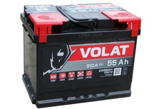 Аккумулятор VOLAT Ultra 55 А/ч 530 А