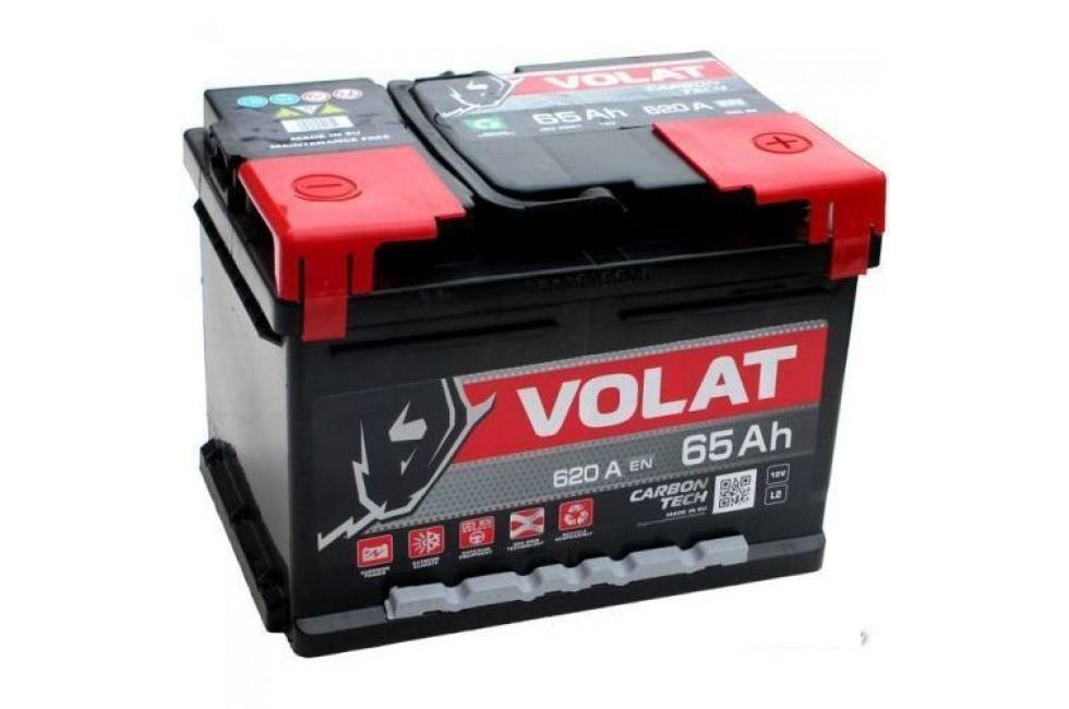 Аккумулятор VOLAT Ultra 65 А/ч 640А