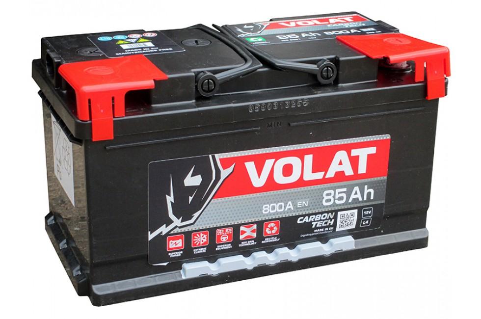 Аккумулятор VOLAT Ultra 85 А/ч 870А