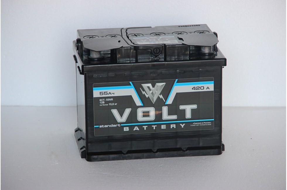 Аккумулятор Volt 55 a/h