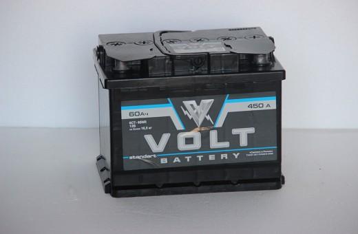 Аккумулятор Volt 60 a/h