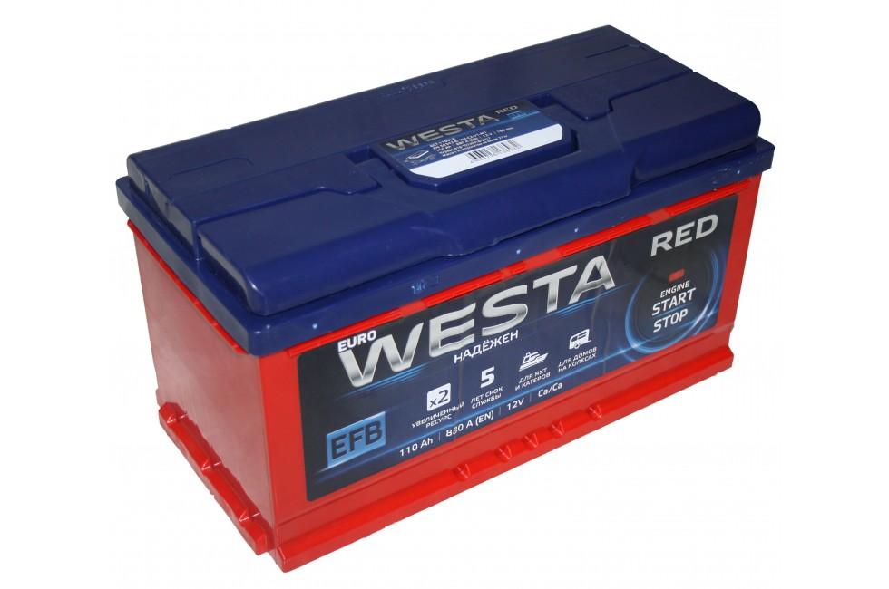Аккумулятор Westa EFB 110 a/h 880A