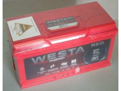 Аккумулятор Westa RED 100 А/Ч, 910А