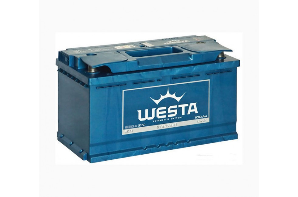 Аккумулятор Westa Standart 100 a/h 830A