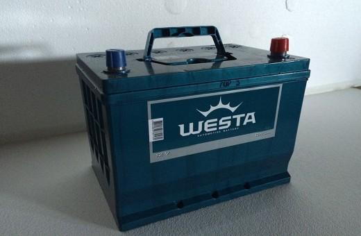 Аккумулятор Westa Asia 50 a/h 480A (EN)