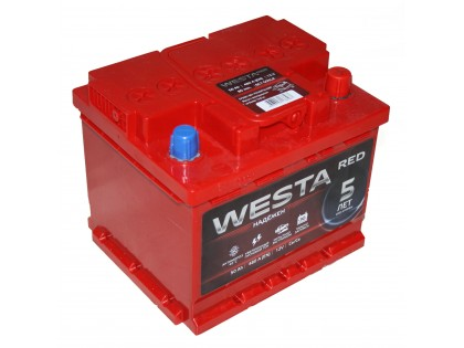 Аккумулятор Westa RED 50 ач 480 A