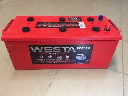 Аккумулятор Westa 192 a/h 1350 (EN) красный