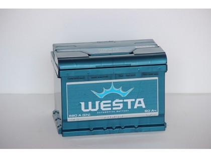 Аккумулятор Westa 60 a/h 600A L+R+
