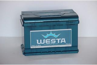 Аккумулятор Westa 74 L+ R+ 720A