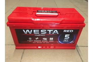 Аккумулятор Westa RED 92 a/h 850A