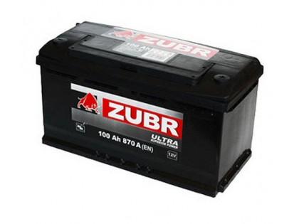 Аккумулятор Зубр Ultra  100 a/h 820A (EN)