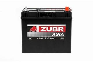 Аккумулятор Zubr Ultra ASIA 45 A/h 330А R+