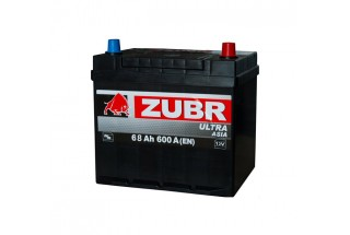 Аккумулятор Zubr Ultra ASIA 68 A/h 600А R+