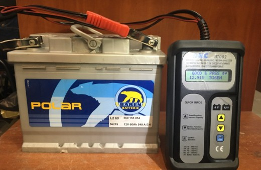 Аккумулятор Baren polar 60 a/h 540 A