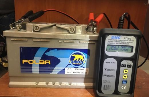 Аккумулятор Baren Polar 74 a/h 580 A