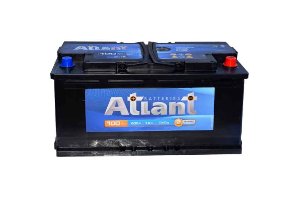 Аккумулятор Atlant Autopart 100 A/h 800A R+