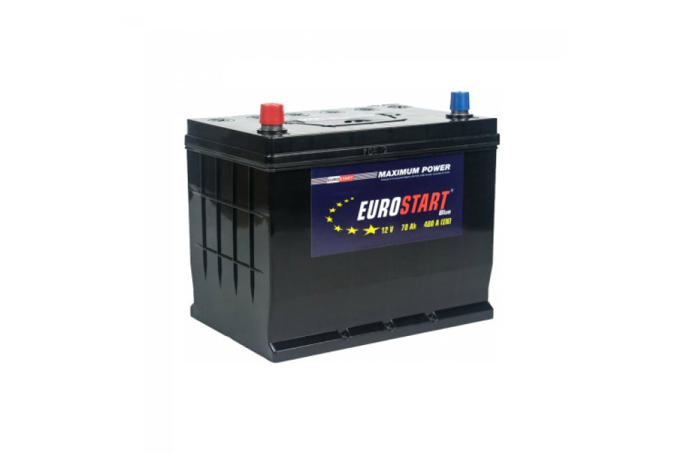 Аккумулятор Eurostart Blue ASIA 70 A/h 480A L+