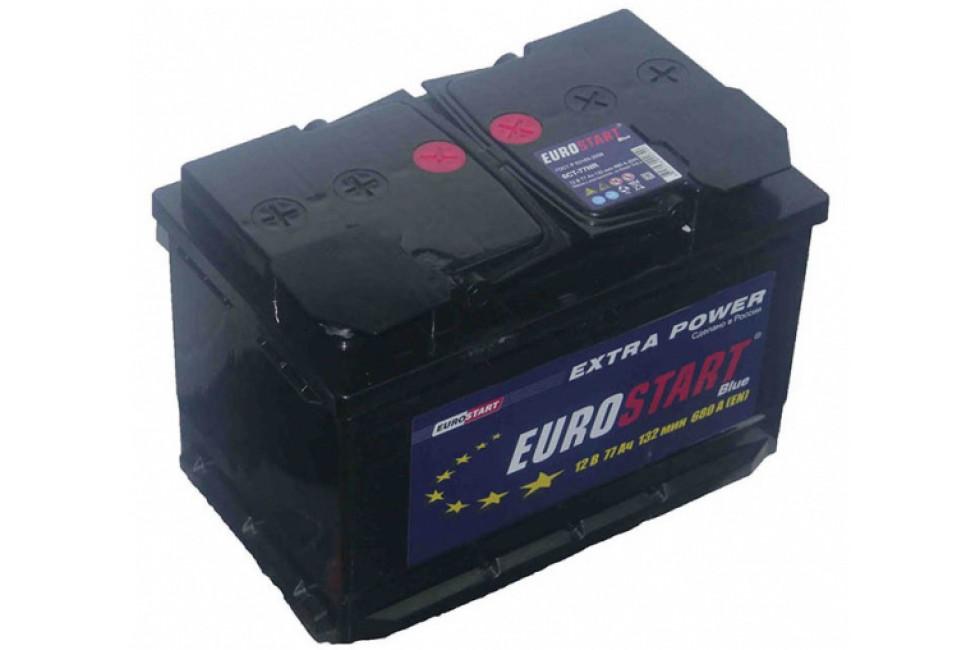 Аккумулятор Eurostart Blue 90 A/h 760А R+