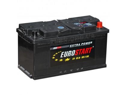 Аккумулятор Eurostart Extra Power 90 A/h 740А R+