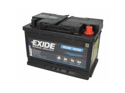 Аккумулятор Exide Start-Stop AGM EK 700 (70 A/h) 760A R+