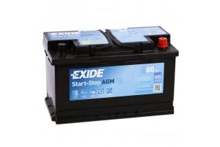 Аккумулятор Exide Start-Stop AGM EK800 (80 A/h) 800A R+