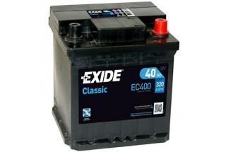 Аккумулятор Exide Classic EC400 (40 A/h), 320A R+