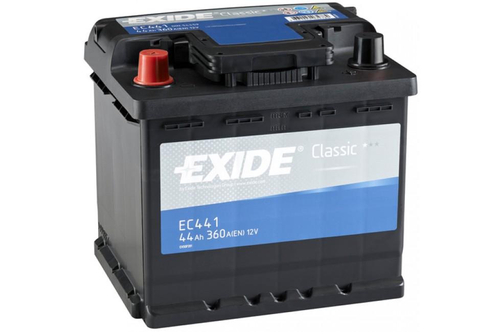 Аккумулятор Exide Classic EC441 (44 A/h), 380A L+