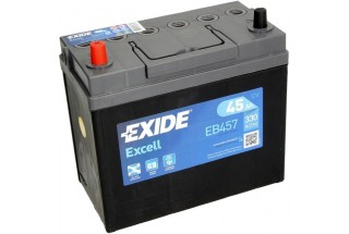Аккумулятор Exide Excell EB457 (45 A/h), 330A L+