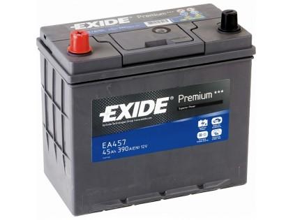 Аккумулятор Exide Premium EA457 (45 A/h), 390A L+