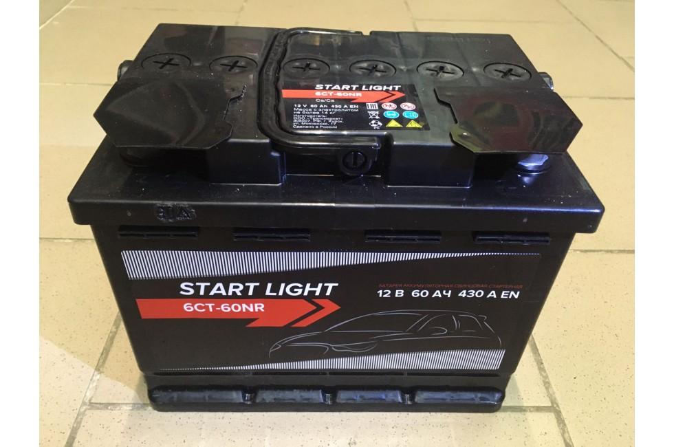 Аккумулятор Start light 60 a/h