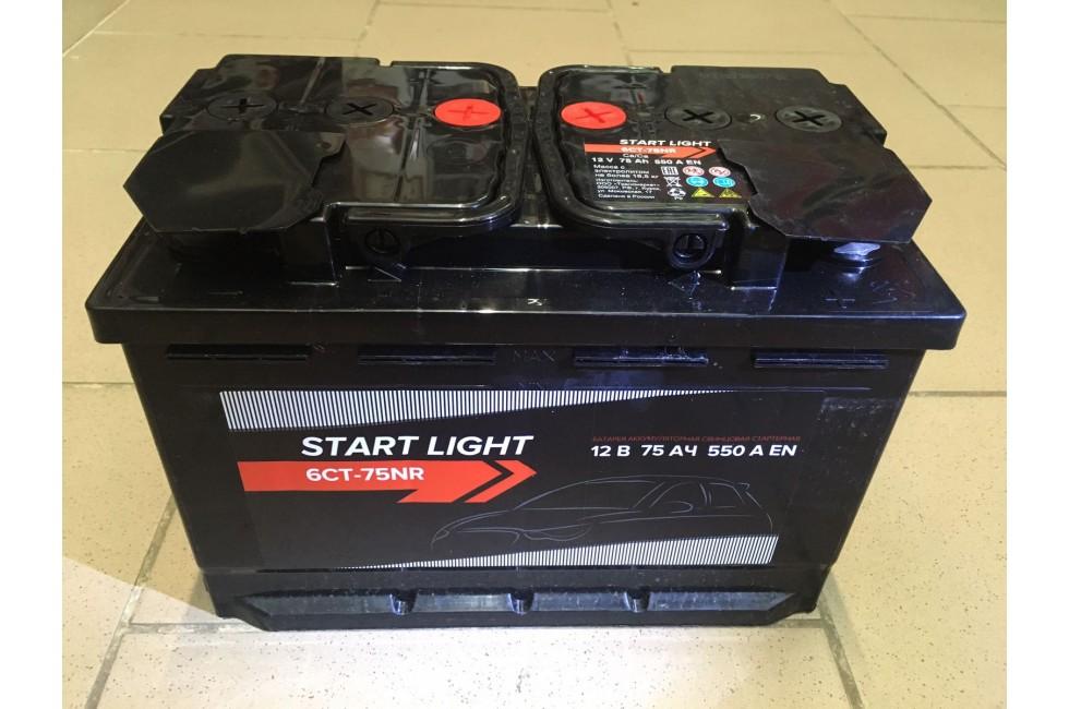 Аккумулятор Start light 75 a/h