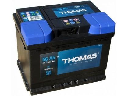 Аккумулятор Thomas 56 A/h 520A R+