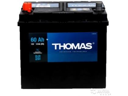 Аккумулятор Thomas Asia 60 A/h 510A L+