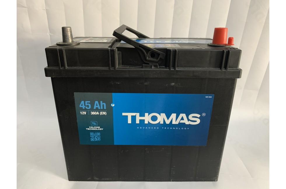 Аккумулятор Thomas Asia 45 A/h 360A L+