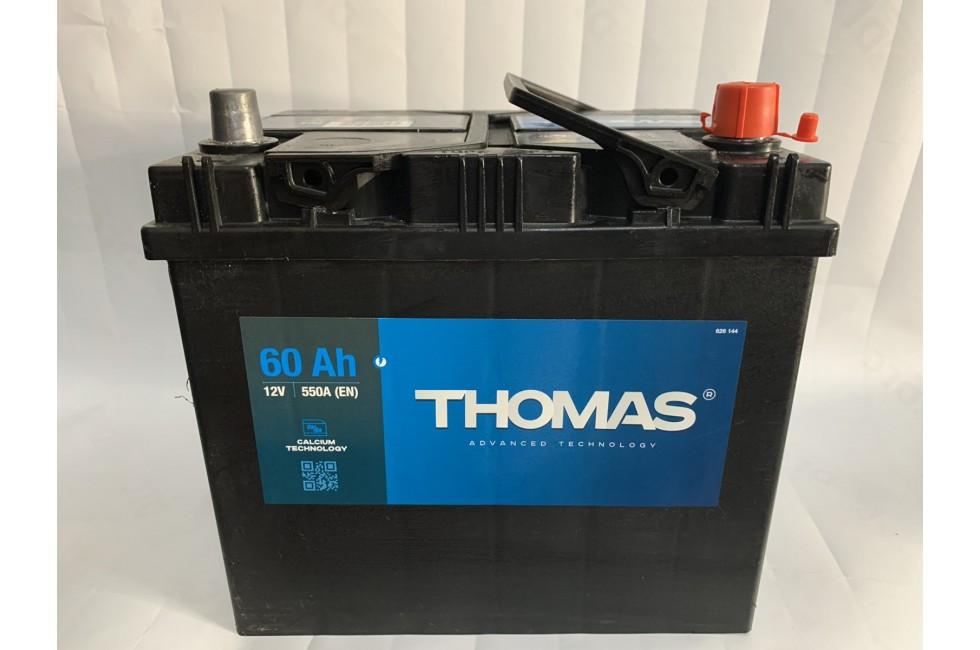 Аккумулятор Thomas Asia 60 A/h 550A L+