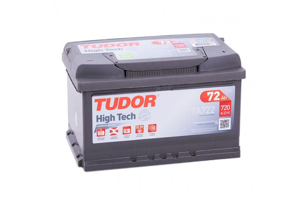 Аккумулятор Tudor High Tech TA722 72 А/ч 720A