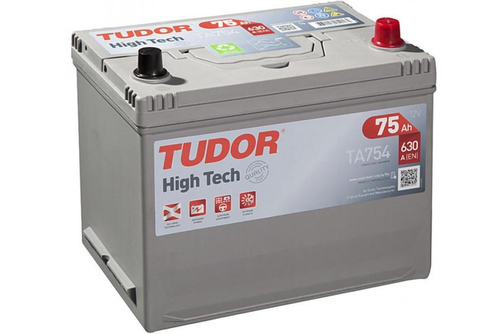 Аккумулятор Tudor High Tech Japan 75 А/ч 630A R+