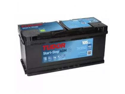 Аккумулятор TUDOR Start-Stop AGM TK1050 105 A/h 950A R+