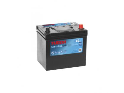 Аккумулятор TUDOR Start-Stop EFB TL604 60 A/h 520A R+