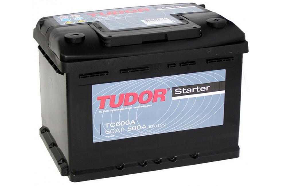 Аккумулятор Tudor Starter TC600A 60 А/ч 500A