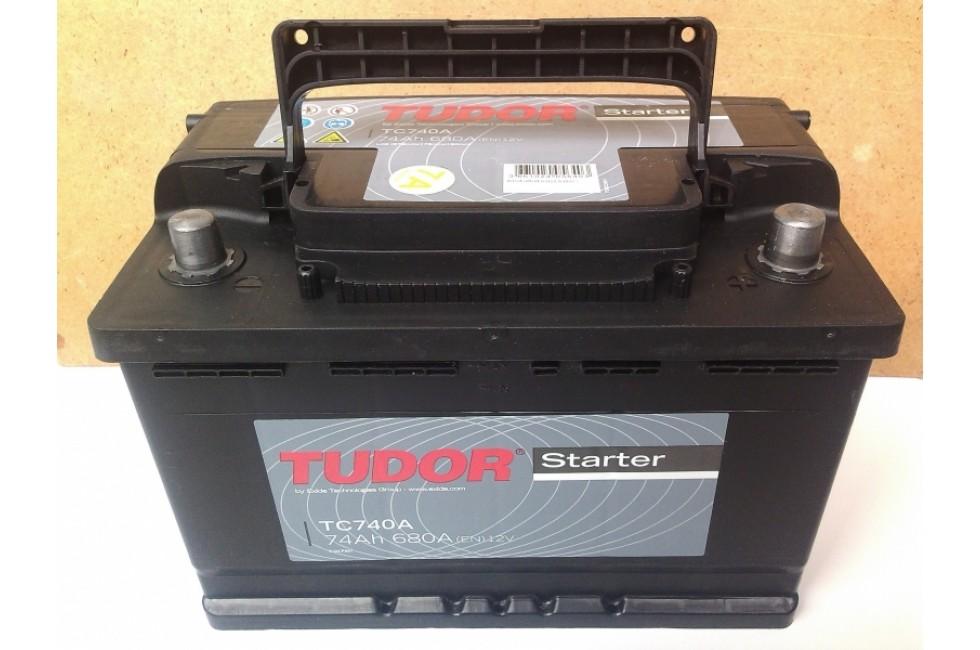 Аккумулятор Tudor Starter TC741A 74 А/ч 680A L+