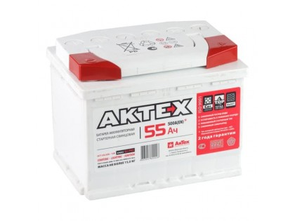 Аккумулятор АкТех Classic 6СТ-55 Евро