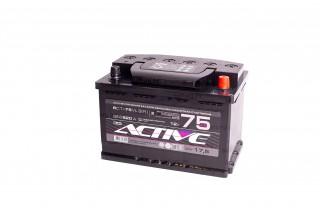 Аккумулятор АкТех Active Frost 6СТ-75 Евро