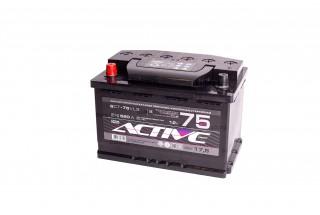 Аккумулятор АкТех Active Frost 6СТ-75