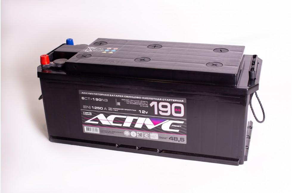 Аккумулятор АкТех Active Frost 6СТ-190 Евро