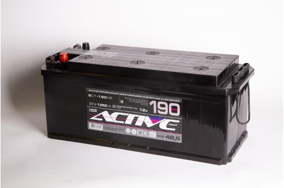 Аккумулятор АкТех Active Frost 6СТ-190 (под болт)