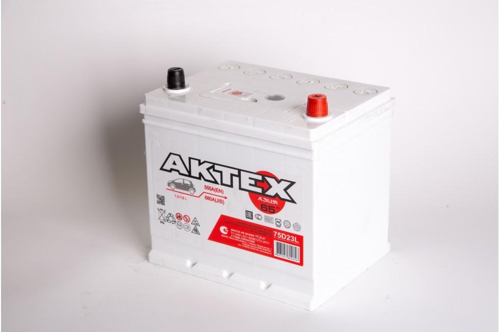 Аккумулятор АкТех Asia 6СТ-65 Евро
